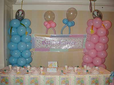 Baby Shower Balloons Decoration Ideas for Boys