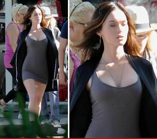Megan Fox luce hermosa su embarazo